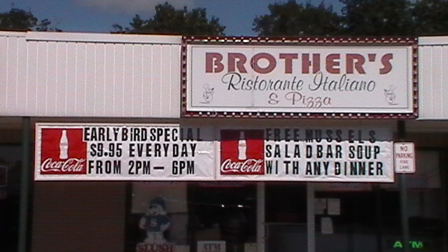 Welcome to Brothers Pizza and Restaurant